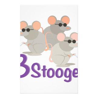 3 Stooges Stationery