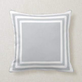 3 Stripe/Square Pattern - Choose the colour Pillow