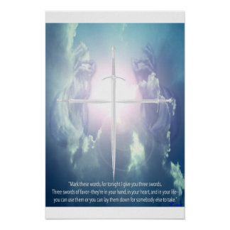 3 sword prophecy posters