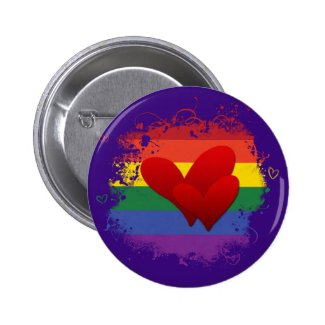 <3 the Rainbow Button
