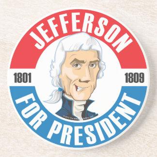 #3 Thomas Jefferson Campaign Coaster