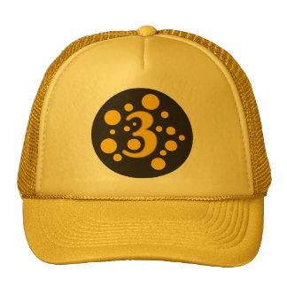 3-Three Trucker Hat