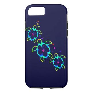 3 Tie Dyed Honu Turtles iPhone 7 Case