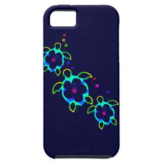 3 Tie Dyed Honu Turtles iPhone SE/5/5s Case