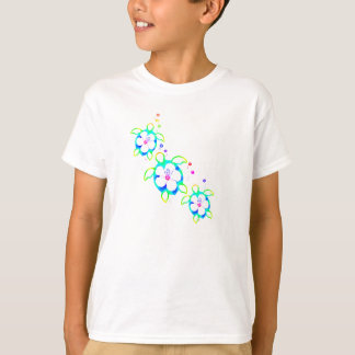 3 Tie Dyed Honu Turtles T-Shirt