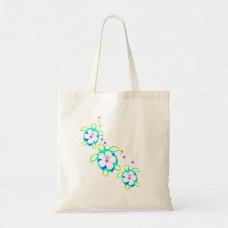3 Tie Dyed Honu Turtles Tote Bag