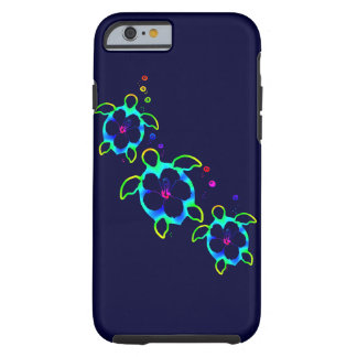 3 Tie Dyed Honu Turtles Tough iPhone 6 Case