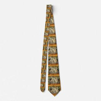 3-toed sloth tie