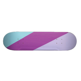 3 tone colored Deck- Gem Interactive Skateboard