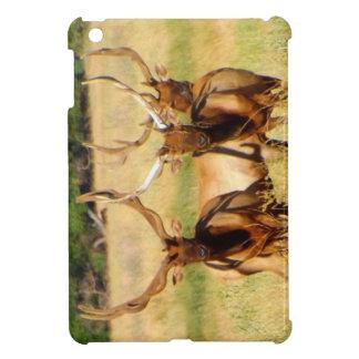 3 toros alces iPad mini protectores