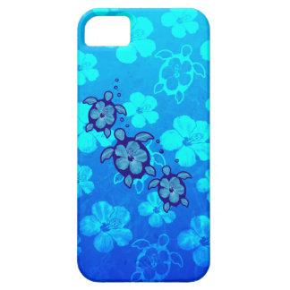 3 tortugas azules de Honu iPhone 5 Cobertura