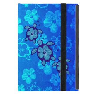 3 tortugas azules de Honu iPad Mini Protectores