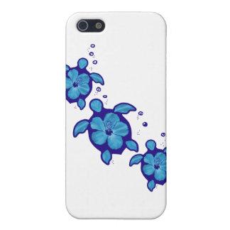 3 tortugas azules de Honu iPhone 5 Carcasa