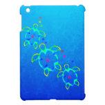 3 tortugas teñidas lazo de Honu iPad Mini Cobertura