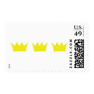 3 tres coronas del rey sellos