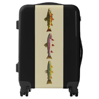3 Trout for Fishermen and Ichthyologists Luggage