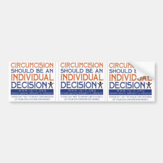 """3 Up """"Individual Decision"""" Sticker"""