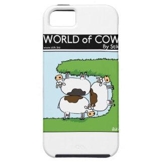 3 vacas que pastan iPhone 5 Case-Mate coberturas
