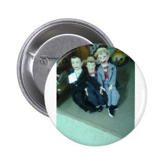 3 Vantrillaqest Dolls Products Pinback Button