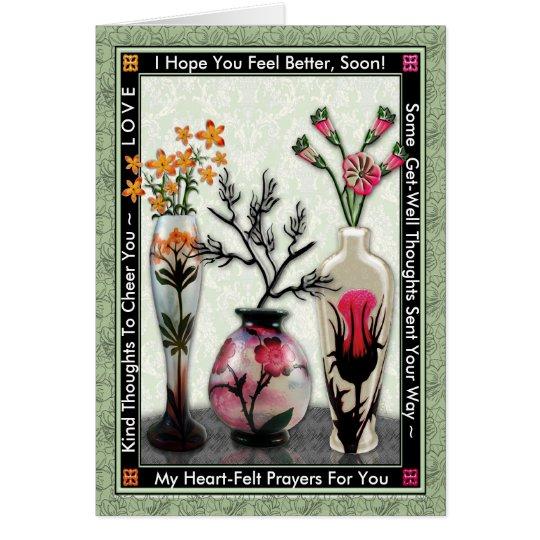 3 Vases Card