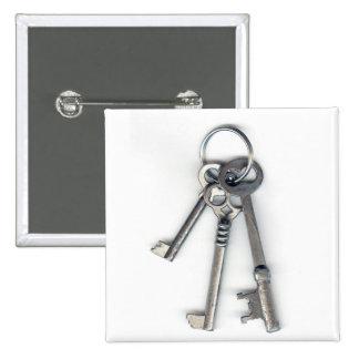 3 viejas llaves pin cuadrado