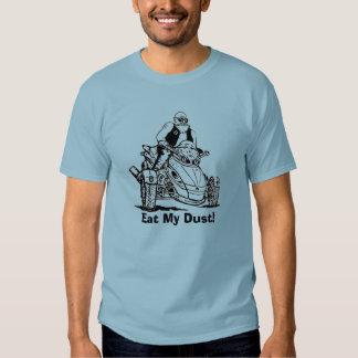 3 wheeler old man biker, eat my dust shirt
