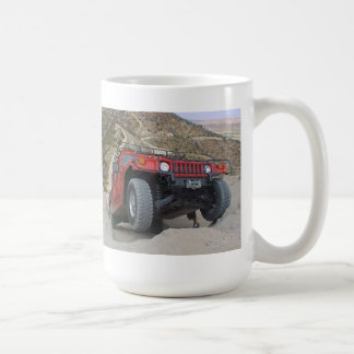 3 wheeling Hummer H1 Coffee Mug