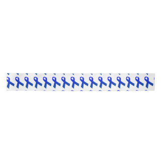 "3"" Wide Satin Colon Cancer Awareness Ribbon"
