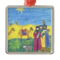 3 Wise men CHRISTmas ornament