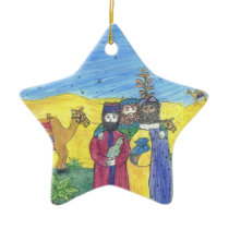 3 Wise Men CHRISTmas ornament personalize