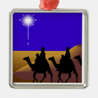 3 Wise Men Christmas Ornaments
