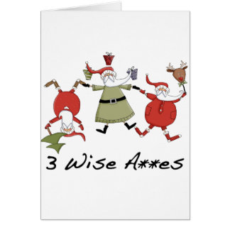 3 Wise Men Funny Christmas Cards