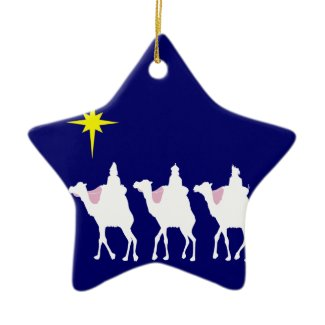 3 Wise Men Star Ornament
