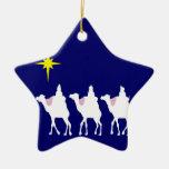 3 Wise Men Star Ornament