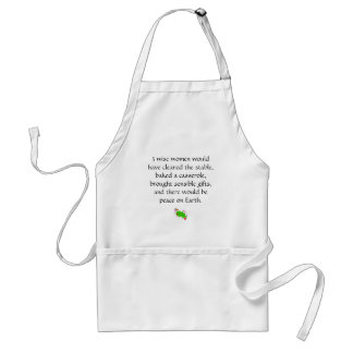 3 wise women adult apron