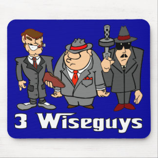 3 Wiseguys Mouse Pad