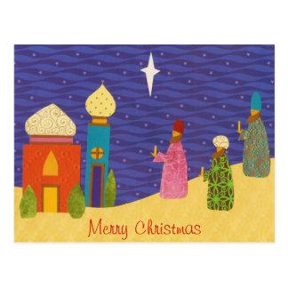3 Wisemen Christmas Postcard