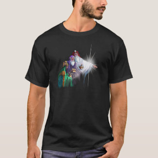 3 WISEMEN MAGI & STAR by SHARON SHARPE T-Shirt