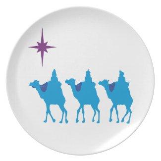 3 Wisemen Plate