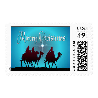 3 WISEMEN & STAR by SHARON SHARPE Postage