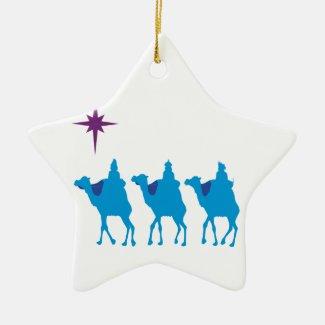 3 Wisemen Star Ornament