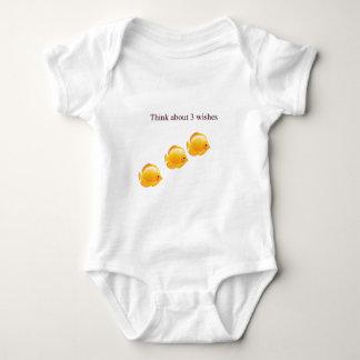 3 wishes baby bodysuit