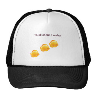 3 wishes trucker hat
