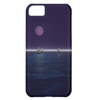 3 Wooden Ships Cover For iPhone 5C