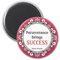3 Word Quote Proverb On Success Magnet