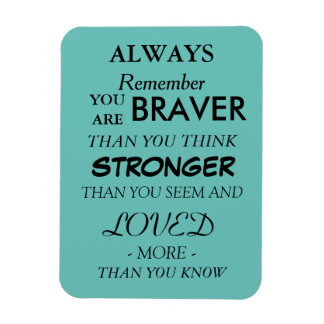 "3""x4"" Encouraging Quote Magnet"