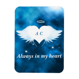 """3""""x4"""" Photo Magnet - Angel of the Heart"""