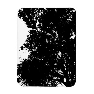 "3""x4"" Photo Magnet PAPA'S TREE SILHOUETTE"