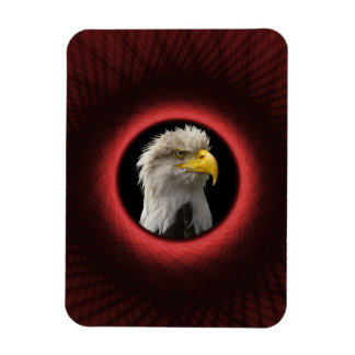 "3""x4"" Photo Magnet Woven Red Window"