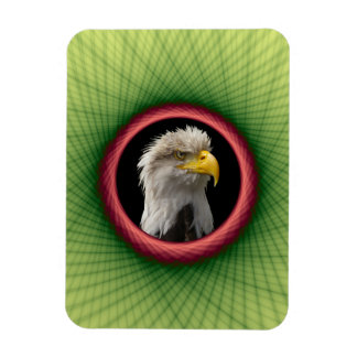 "3""x4"" Photo Yellow and Green Weave Frame Magnets"